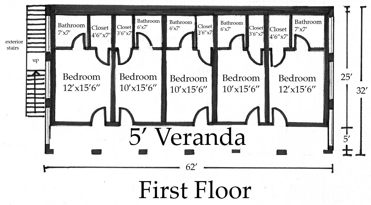 Guest house floor plans guest cottages floor plans compact Guest house layout plan