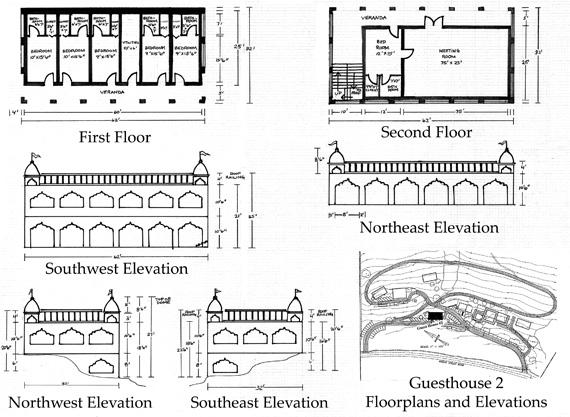 Floor plan of Srila Govinda Maharaj�s residence