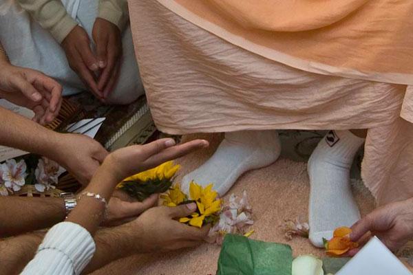 Unto the Lotus feet