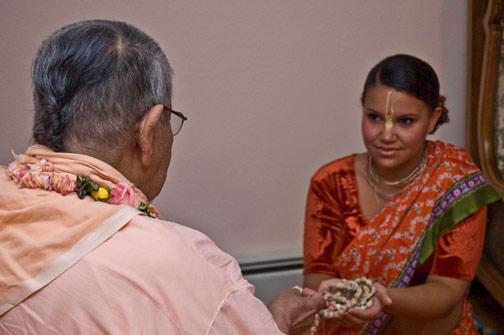 Preanka Devi Dasi, grandaughter of Sureshvari didi