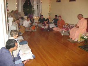 Bhajans to honor Srila Gurudev