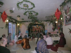 Srutasrava is giving class