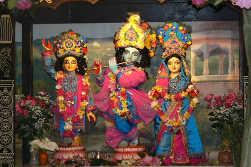 Their Lordships on Sri Gaura Purnima