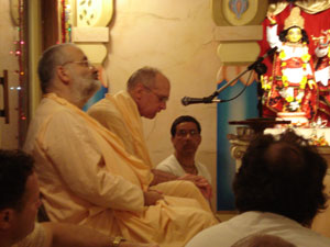 Siddhanti Maharaj spoke beautifully about Srila Guru Maharaj.