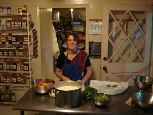Rajani Devi Dasi and Kamal Krsna Prabhu were the main cooks for the distribution.
