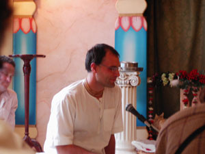 Giridhari Prabhu also shared his appreciation for Srila Gurudev.