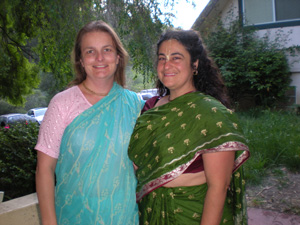 Krishna Kanti and Madhurapriya Didis.