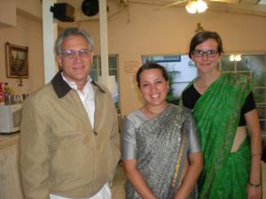 Hasyapriya Prabhu, Vaidehi and Sushila Devi Dasis.