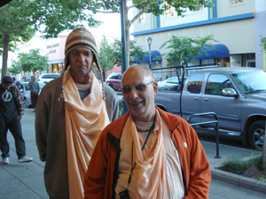 Sripad Siddhanti Maharaj and Janardan Maharaj.