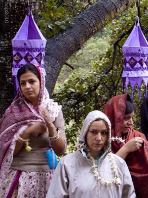 Lalita Didi, Maheswari Didi, and Para Didi