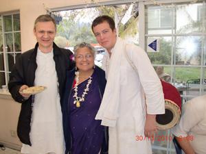 Vidya Sundar Prabhu, Dikshavati Didi and Kalanchand Prabhu