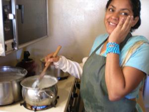 Vrinda Didi  makes khir and sweet rice.