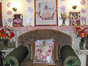 The vyasasan of Srila Bhakti Sundar Govinda Dev-Goswami Maharaj.