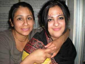 Krishna Sundari and Dhanistha Devis