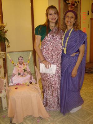 Madhava Mohini and her aunt, Vimala Didi.