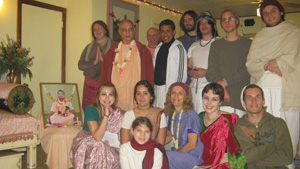 Our auspicious and, expanding Seva Ashram family. 