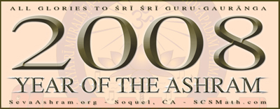Year of the Ashram